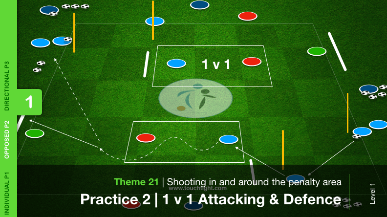 Shooting In  Around The Penalty Area 21 P2 T