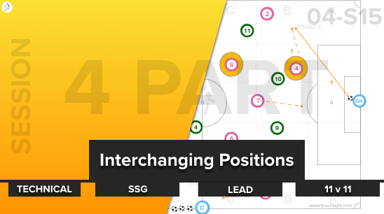 Interchanging Positions | Tech-SSG-Lead-11 v 11 (04-S15)