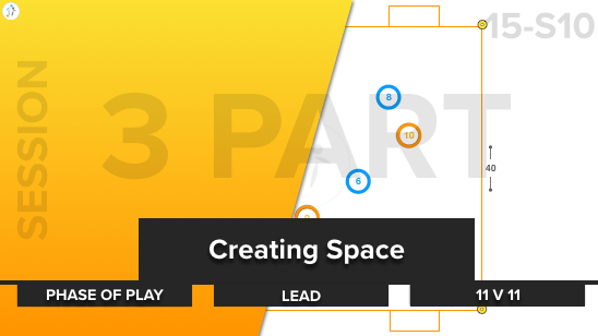 Creating Space | Phase / Lead / 11 v 11 (15-S10)
