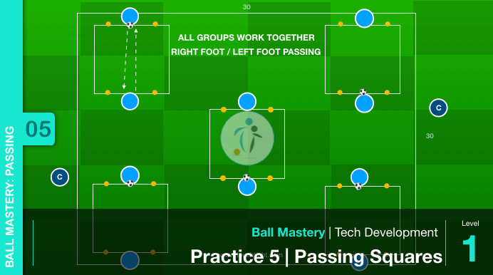 Ball Mastery Passing 05a